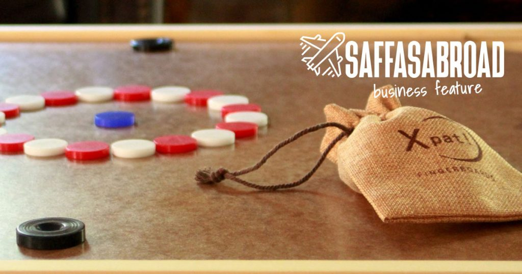 SaffasAbroad.com Business Feature of Xpat! Fingerboards